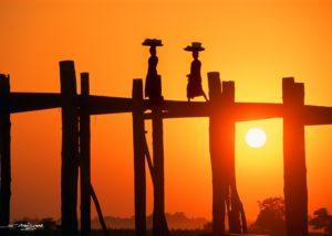 ergio_Ardissone_Tramonto_sul_Ponte-di_U_Bein_Birmania